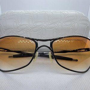 OAKLEY 12-697 CROSSHAIR Black Chrome Sunglasses